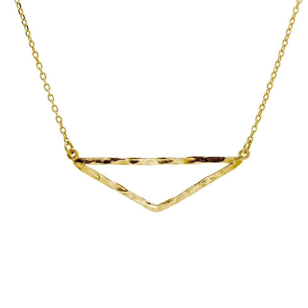 Κολιέ Τρίγωνο Χρυσό