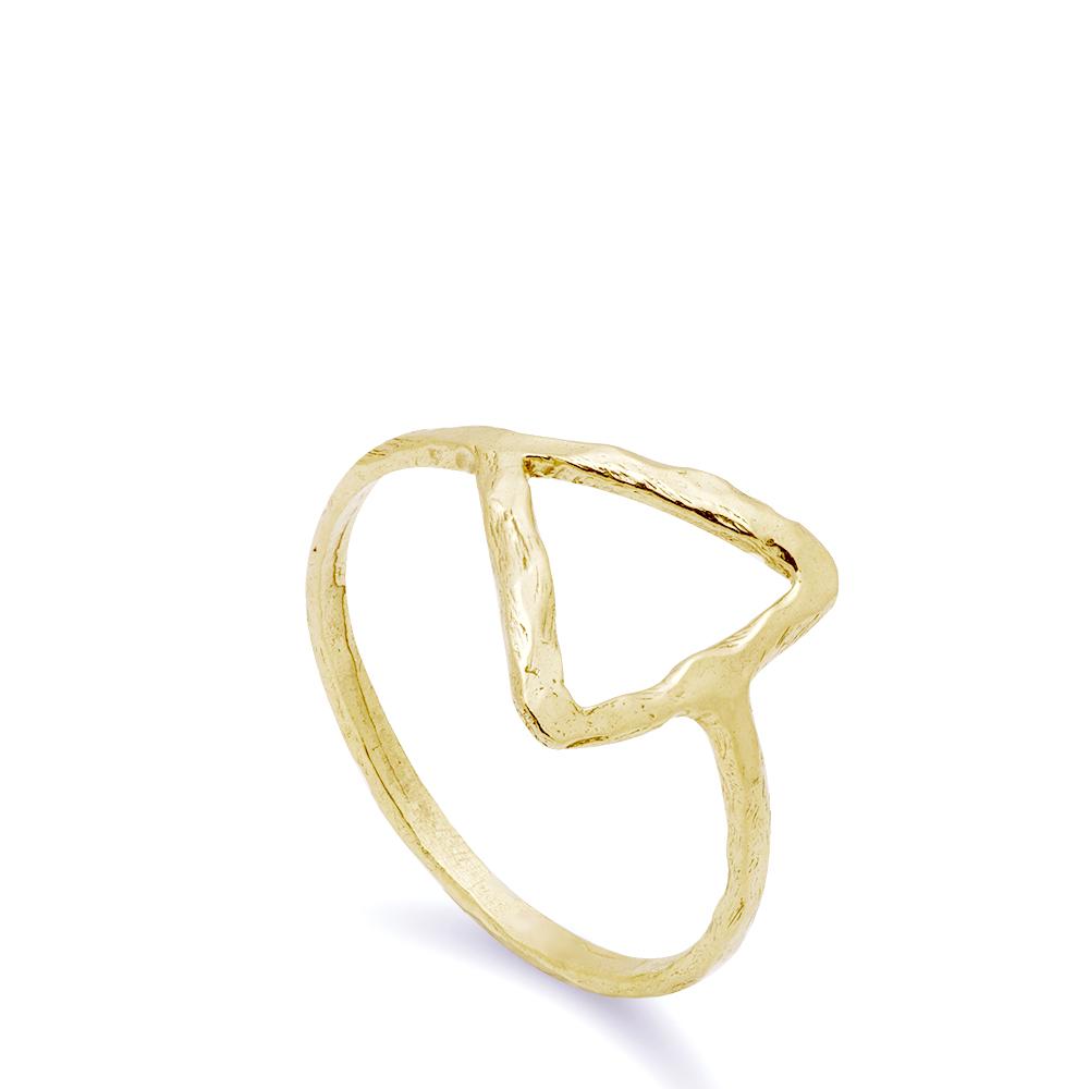 Δαχτυλίδι Τρίγωνο