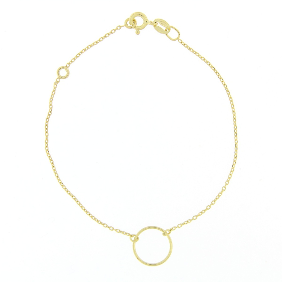 Circle of Life Bracelet Gold Plated