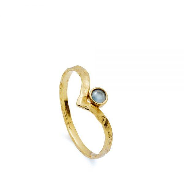 Δαχτυλίδι V με Πέτρα Γέννησης