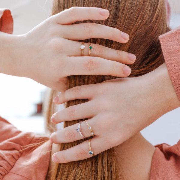 Δαχτυλίδι με Πέτρα Γέννησης