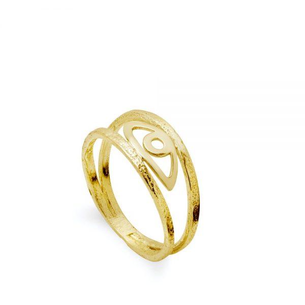 Διπλό Δαχτυλίδι Μάτι
