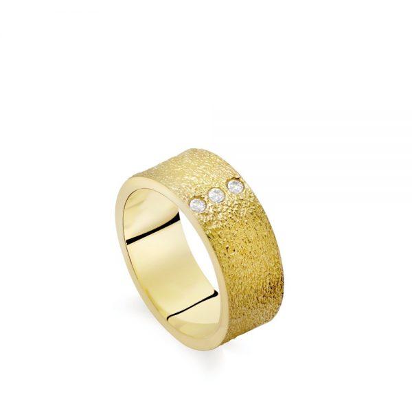 Δαχτυλίδι Ανάγλυφο με ΖιργκόνΔαχτυλίδι Ανάγλυφο με Ζιργκόν