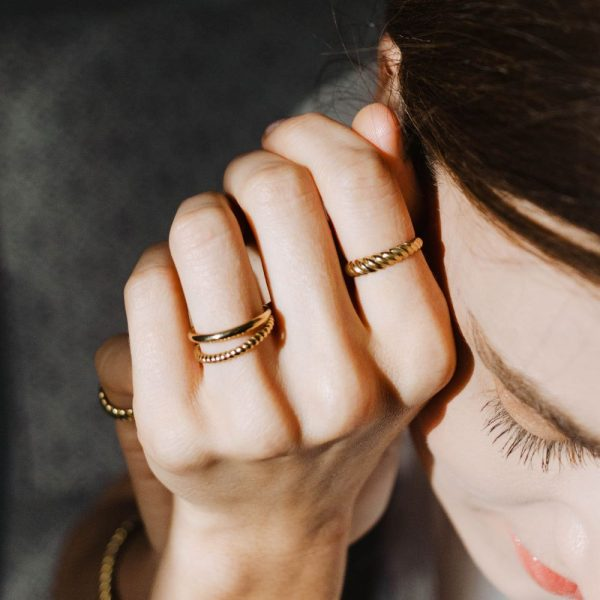 Δαχτυλίδι Twisted-13894