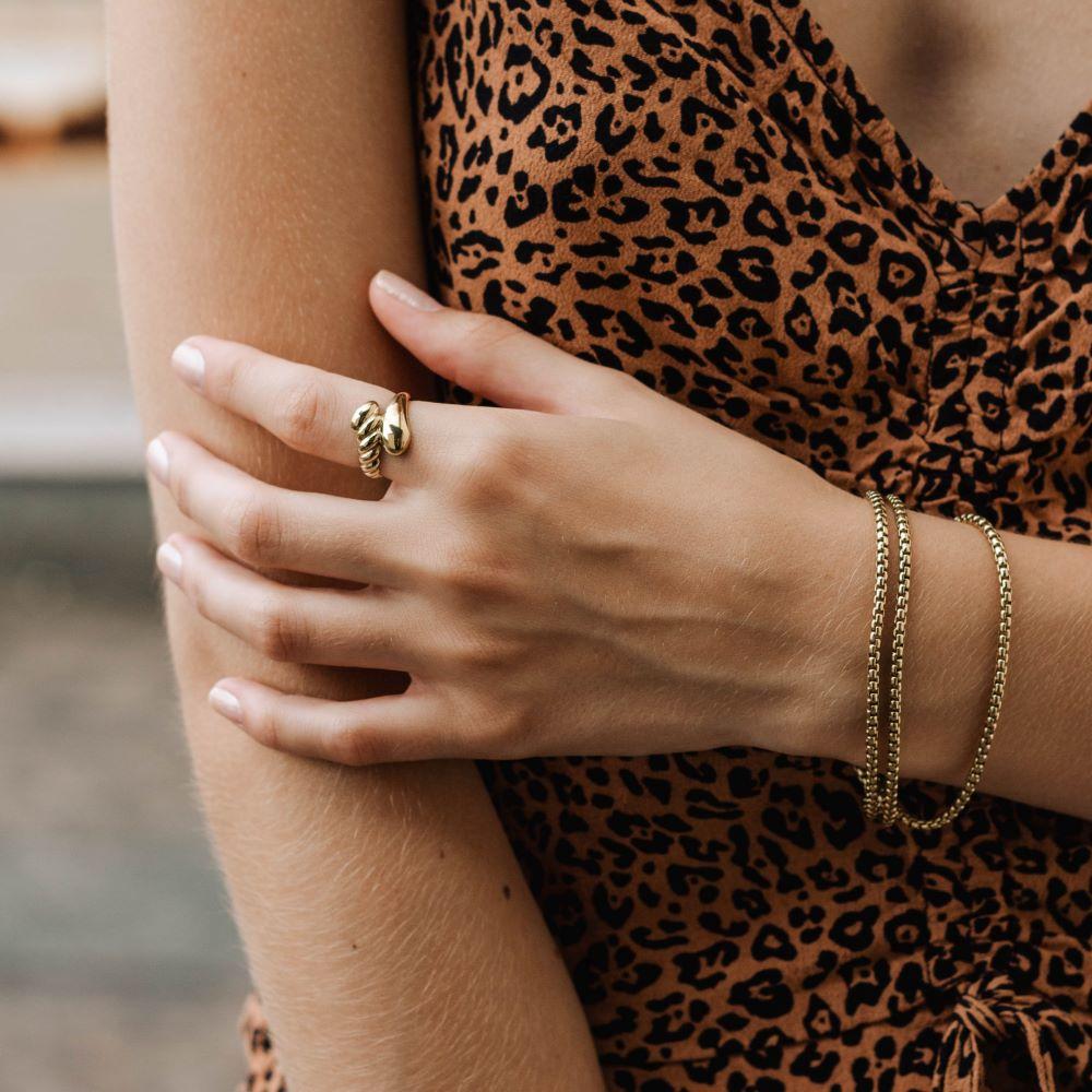 Δαχτυλίδι Twist-18530