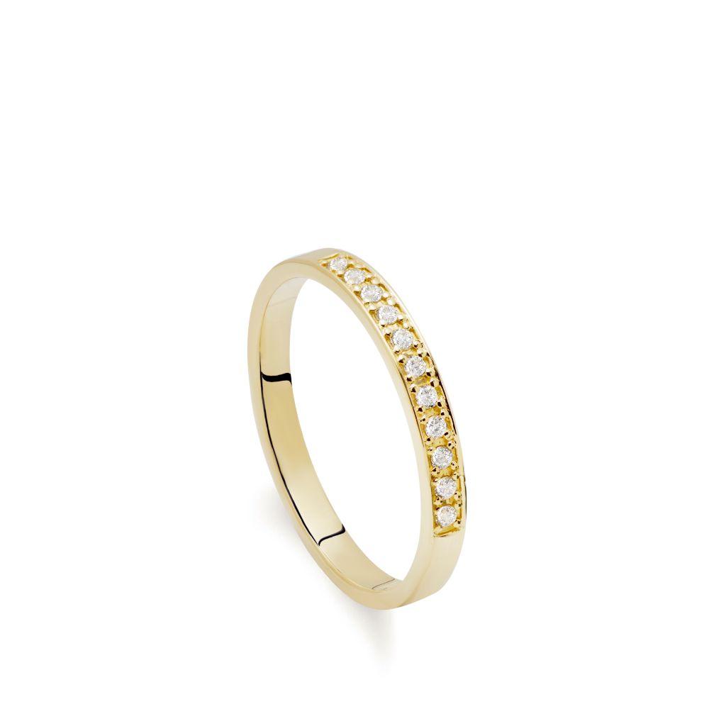 Σειρέ Δαχτυλίδι Διαμάντια Χρυσό