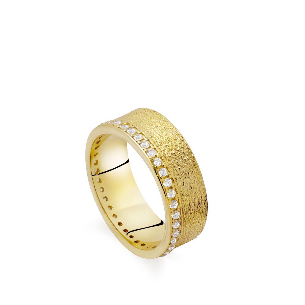 Δαχτυλίδι Ανάγλυφο Ολόβερο