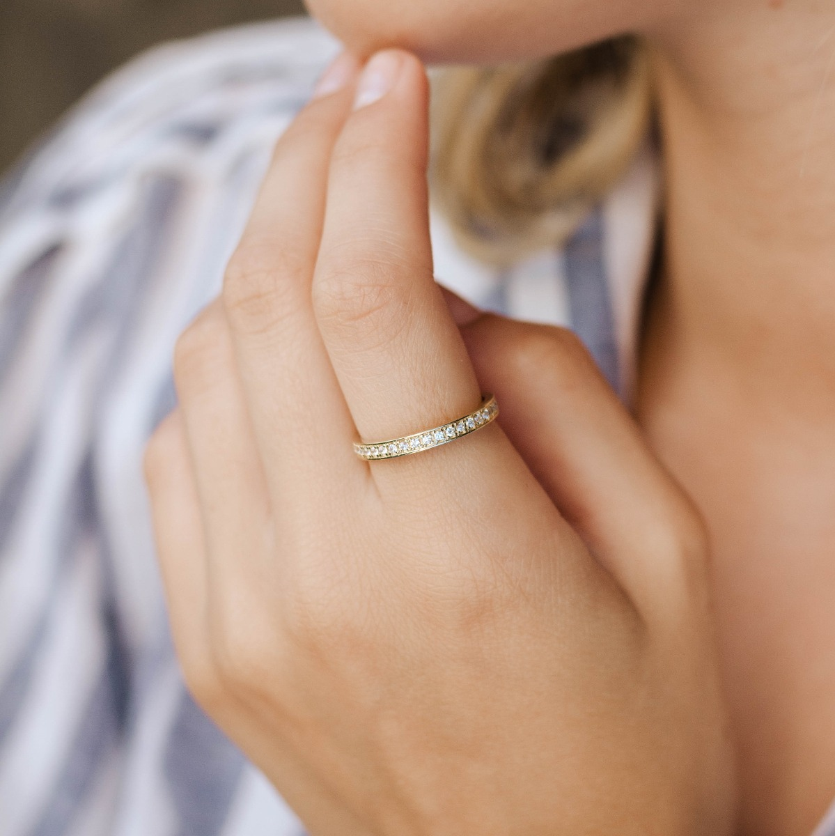 Full Eternity Diamond Ring
