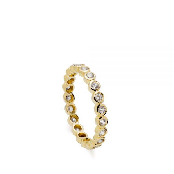 Δαχτυλίδι Διαμάντια Ολόβερο