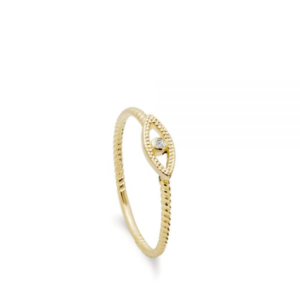 Χρυσό Δαχτυλίδι Μάτι