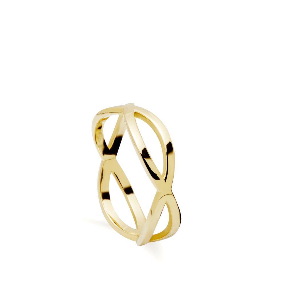 Δαχτυλίδι Crossover 14Κ Χρυσό