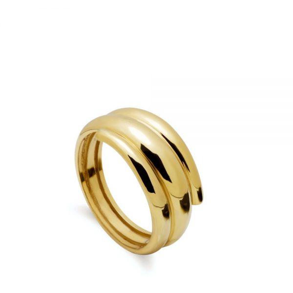 Ασημένιο Δαχτυλίδι Τριπλό