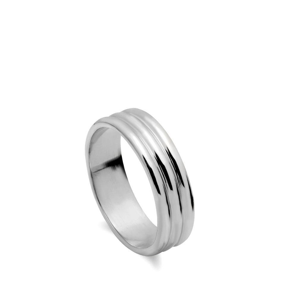 Δαχτυλίδι Τριπλό Ασήμι