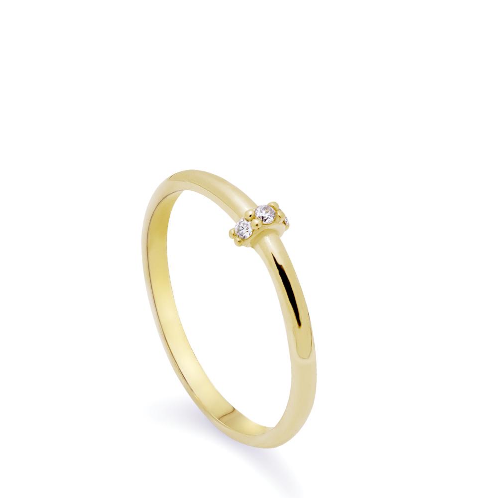 Χρυσό Δαχτυλίδι Λεπτό Κ14