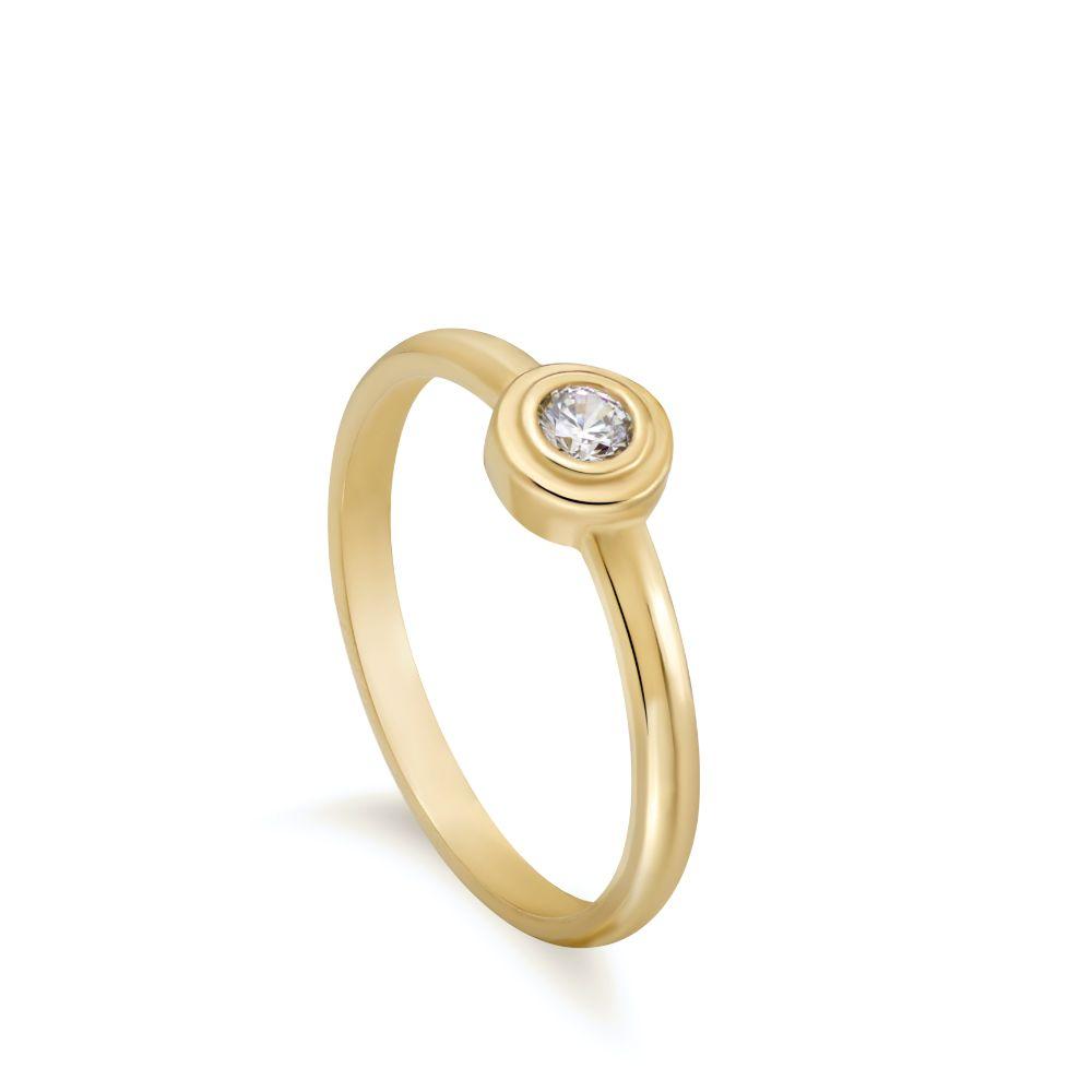 Ασημένιο Δαχτυλίδι Ζιργκόν