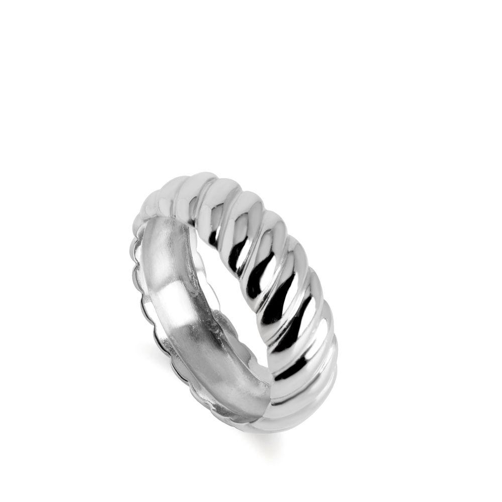 Δαχτυλίδι Twist Ασήμι