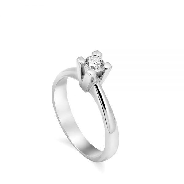 Δαχτυλίδι Διαμάντι Μονόπετρο 18Κ Κλασσικό 0.30 ct