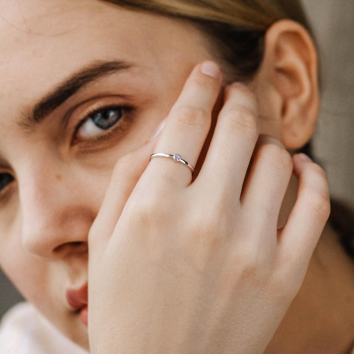 Δαχτυλίδι Ροζ Ζαφείρι-16657
