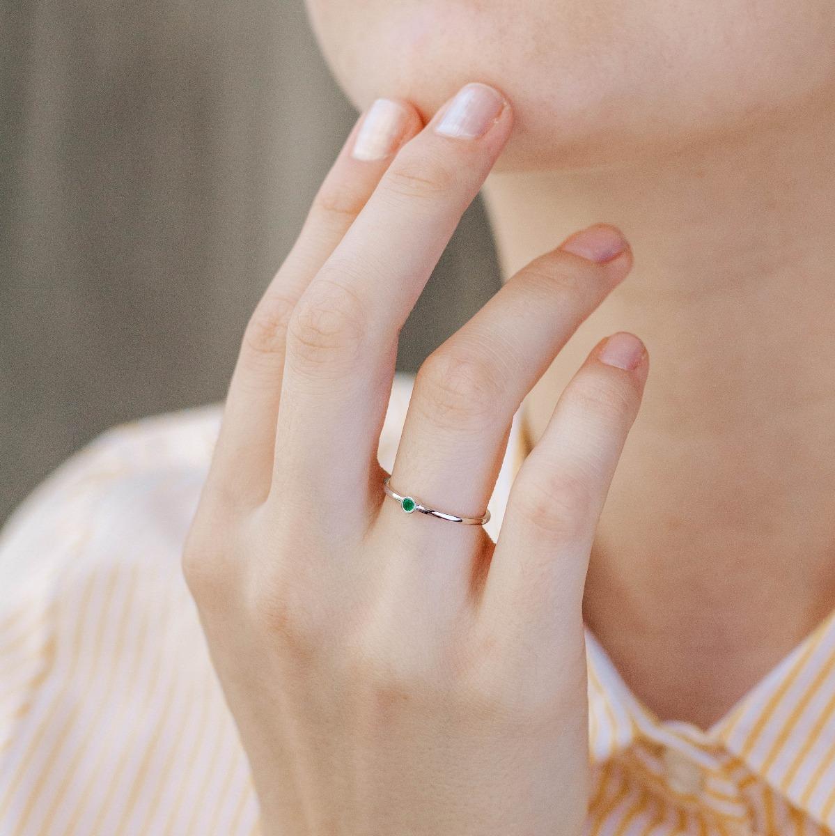 Δαχτυλίδι Σμαράγδι-16654