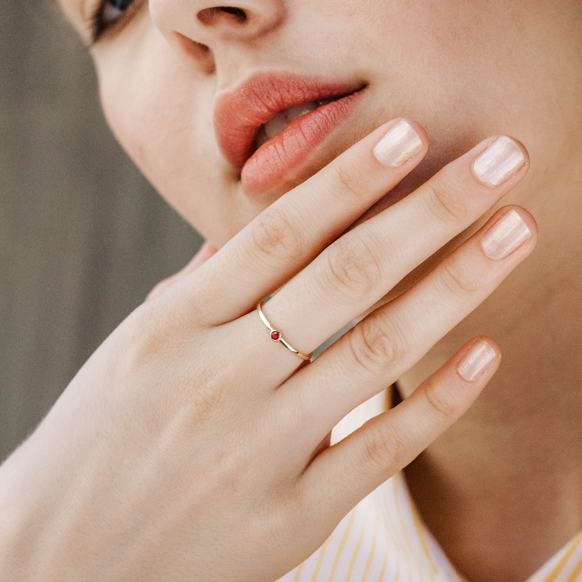 Δαχτυλίδι Ρουμπίνι-16658
