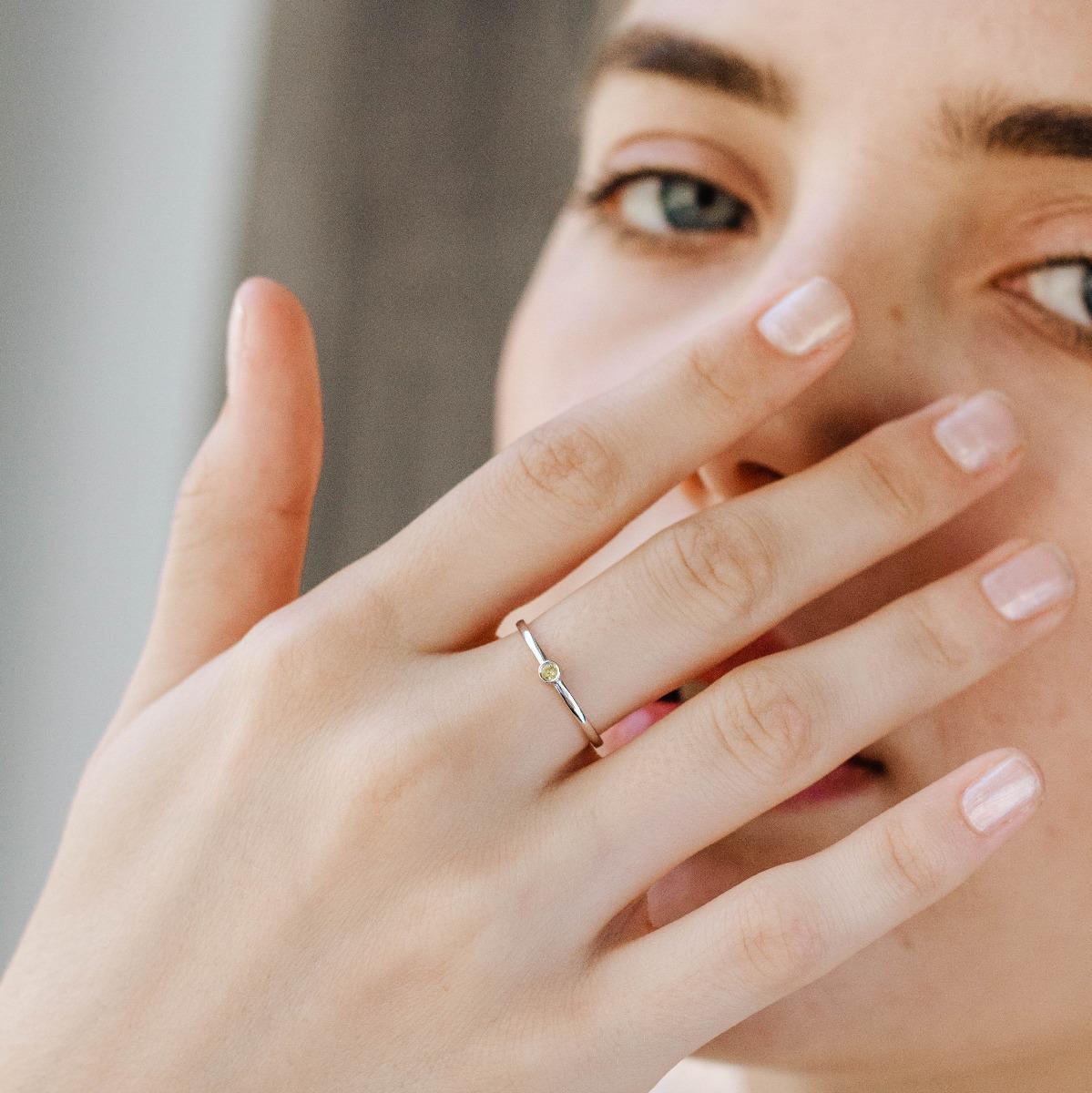 Δαχτυλίδι Κίτρινο Ζαφείρι-16655