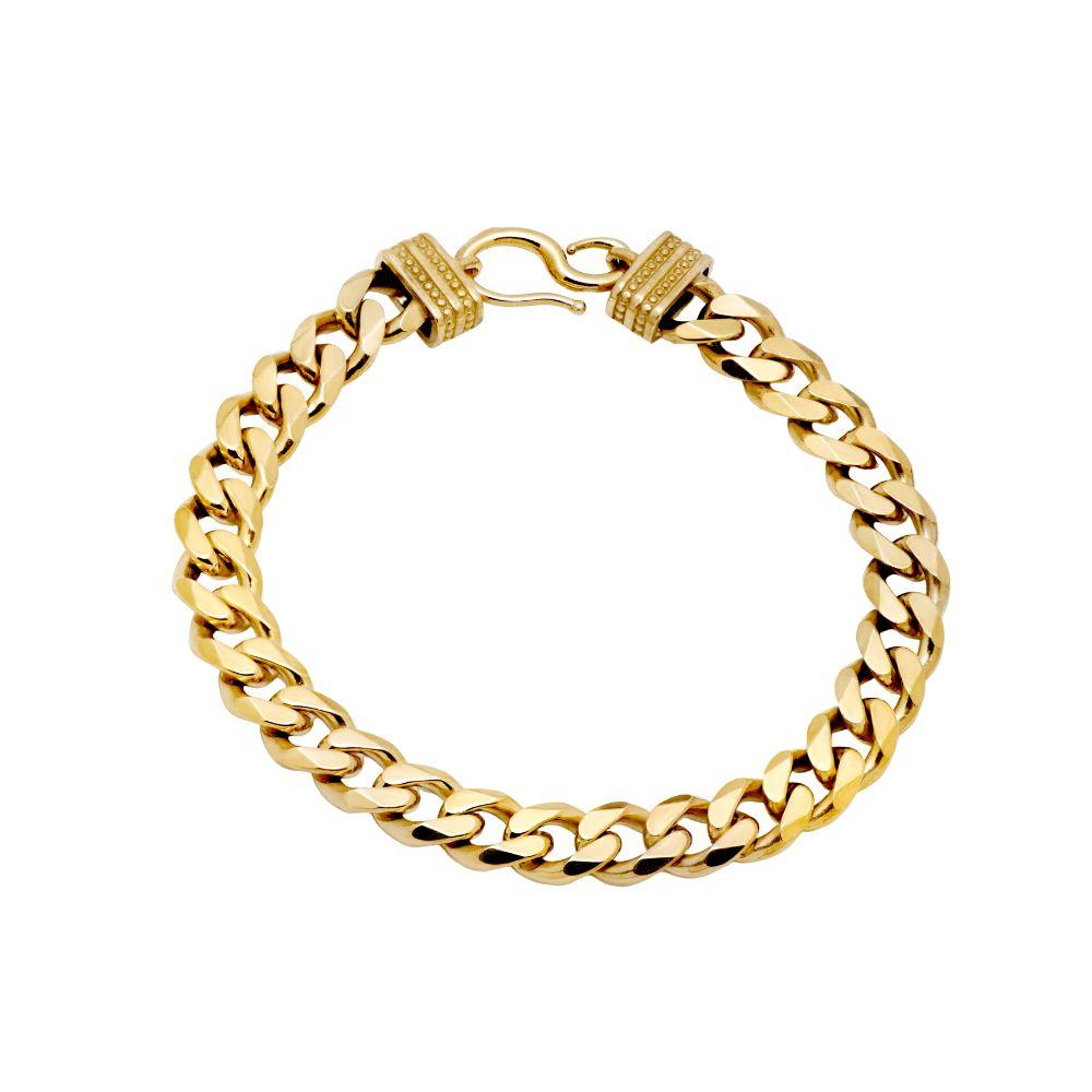 Cuban Chain Bracelet Gold