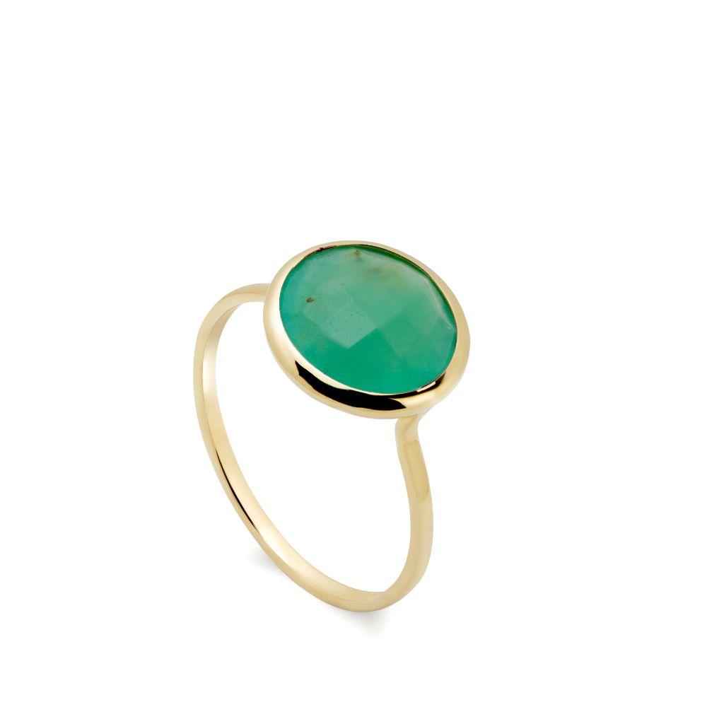 Δαχτυλίδι με Ημιπολύτιμες Πέτρες 10mm-0