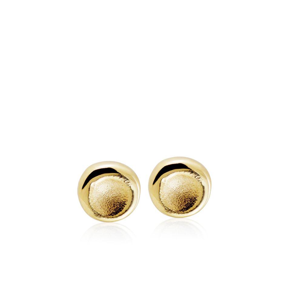 Μικρά Σκουλαρίκια Κύκλοι Χρυσά
