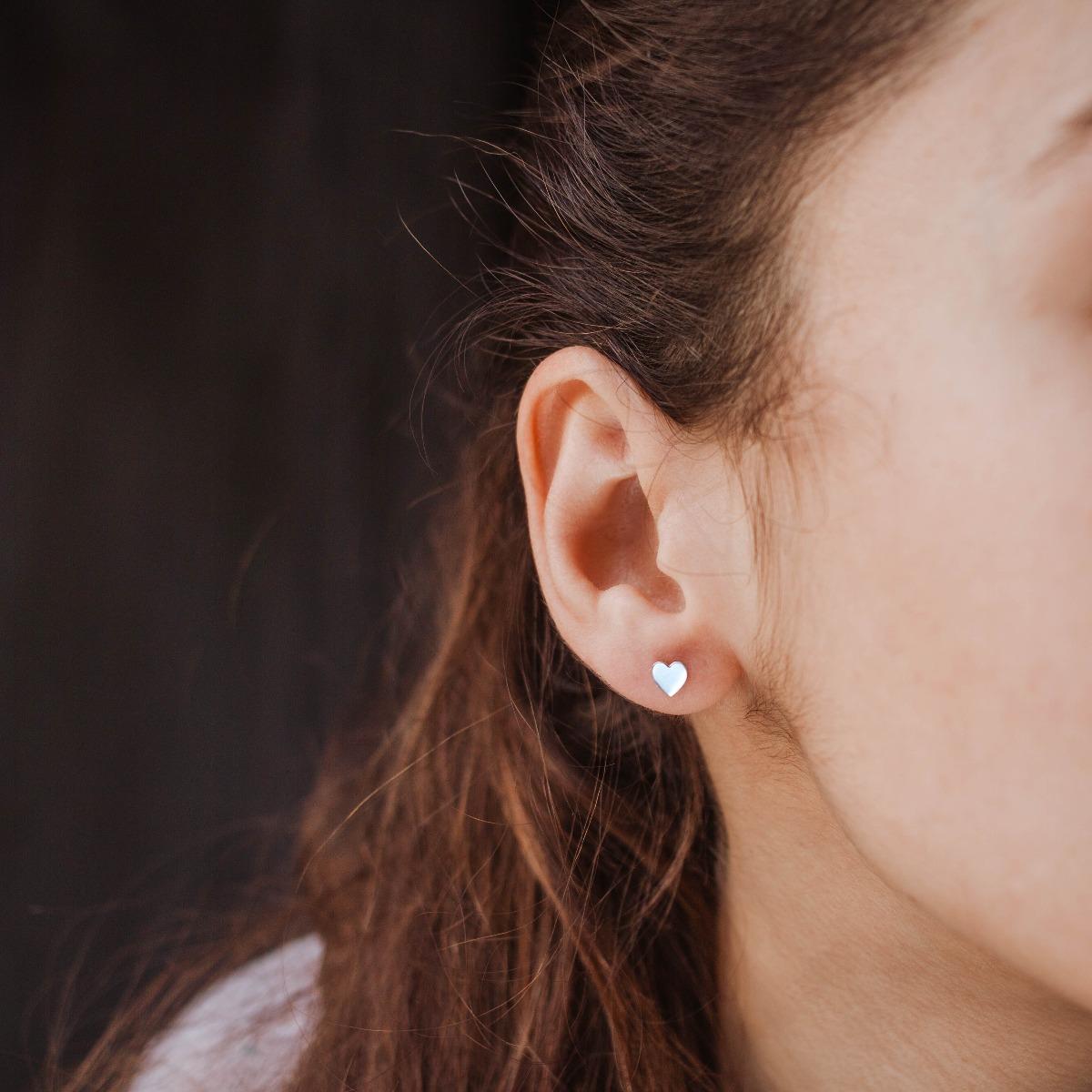 Σκουλαρίκια Καρδιές Χρυσά -20116