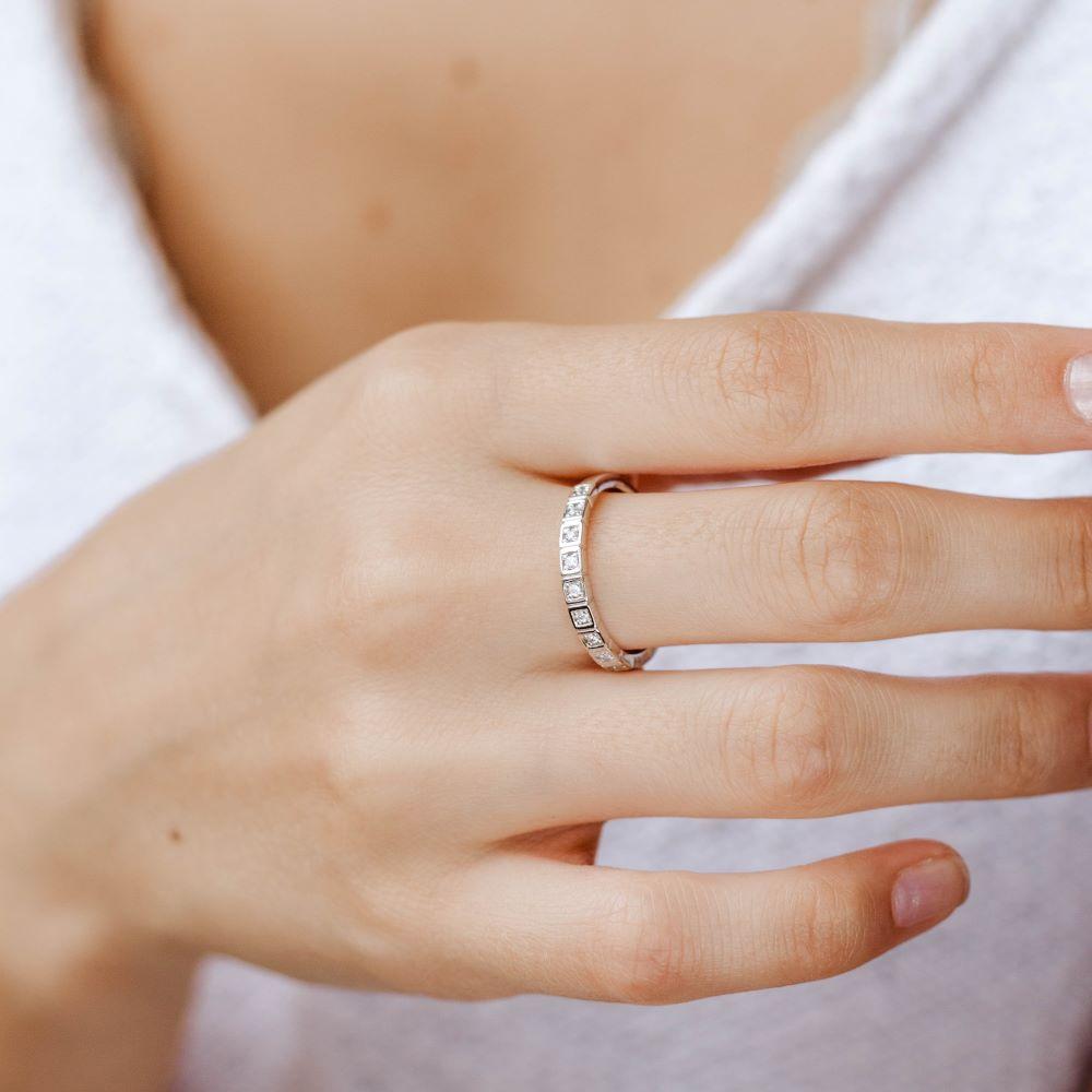 Σειρέ Δαχτυλίδι με Διαμάντια-19354