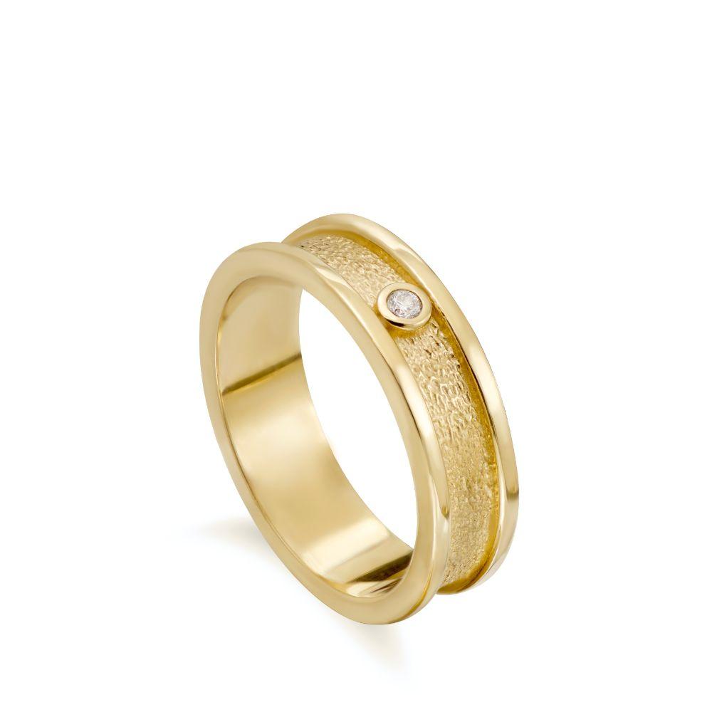 Δαχτυλίδι Βέρα Ανάγλυφη