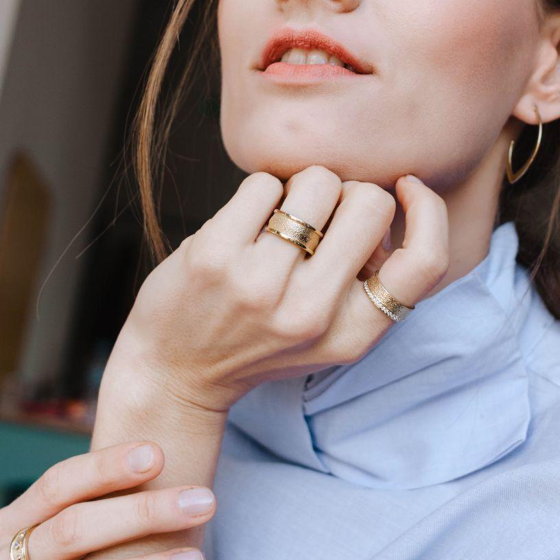 Δαχτυλίδι Ανάγλυφο-19615