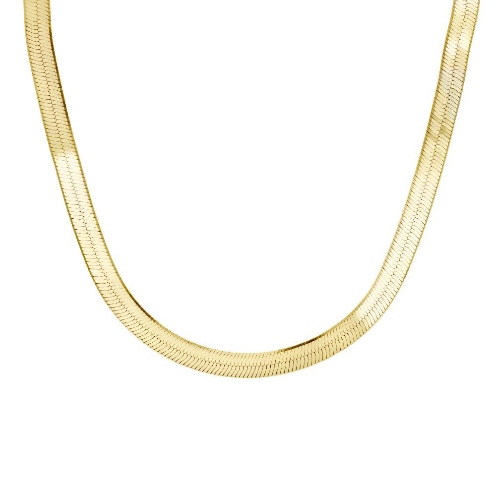 Κολιέ χοντρή Αλυσίδα Ασήμι 925