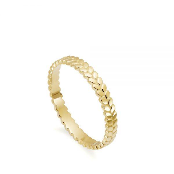 14K Χρυσό Δαχτυλίδι Φύλλα
